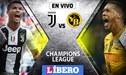 Juventus vs Young Boys EN VIVO por la jornada 6 de la UEFA Champions League