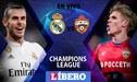 Real Madrid vs CSKA Moscu EN VIVO ONLINE por la Champions League [GUIA TV]