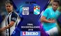 Alianza Lima cae 2-0 ante Sporting Cristal EN VIVO ONLINE por la Final Descentralizado 2018
