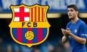 Alvaro Morata cerca de llegar al Barcelona por pedido propio [FOTO]