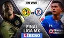 VER América vs Cruz Azul TDN EN VIVO vía TV Azteca empatan 0-0 por la primera final de la Liga MX