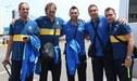 Día del Hincha Crema: Leyendas de Boca Juniors llegaron a Lima para el amistoso de esta noche