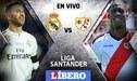Real Madrid vs Rayo Vallecano EN VIVO: con Luis Advíncula por la Liga Santander