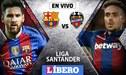Barcelona vs Levante EN VIVO: con Lionel Messi empatan 0-0 por la Liga Santander