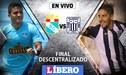 Sporting Cristal vs Alianza Lima EN VIVO: chocan por la segunda final del Descentralizado 2018