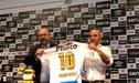 """Sampaoli fue presentado en el Santos con la """"10"""" de Pelé y este le envió un emotivo mensaje [FOTO]"""