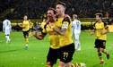 Borussia Dortmund venció 2-1 al Monchengladbach y sigue líder de la Bundesliga [VIDEO]