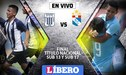 Alianza Lima  vs Sporting Cristal EN VIVO: se enfrentan por la final Sub 13 y Sub 17 del título nacional 'Copa Centenario'