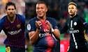 ¡Plata como cancha! Lionel Messi, Kylian Mbappé y Neymar conforman el equipo que vale millones