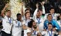 Real Madrid encabeza los ránkings UEFA al cierre del año 2018