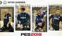 Leyendas del Inter de Milán son agregados al PES 2019 [VIDEO]
