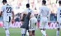 Juventus: Dybala casi se queda desnudo en pleno campo de juego