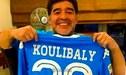 Instagram: Diego Maradona y su mensaje conmovedor a Koulibaly por ser víctima del racismo