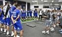 El gesto de Jorge Sampaoli con cada uno de sus jugadores en el Santos de Brasil [VIDEO]