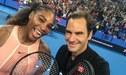 Roger Federer recibió pelotazo en pleno partido de tenis por la Copa Hopman [VIDEO]