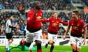 Manchester United derrotó 2-0 a Newcastle y sigue en racha en la Premier League [RESUMEN Y GOLES]