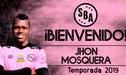 Sport Boys contrató al mediocampista colombiano Jhon Mosquera