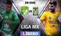 León vs Tigres EN VIVO: con Pedro Aquino, debutan en Liga MX