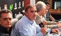 Jorge Pautasso y el 'accidentado' momento durante la conferencia de prensa [VIDEO]