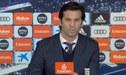 Santiago Solari y su hilarante respuesta tras ser preguntado si merece seguir en el Real Madrid [VIDEO]