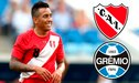 Independiente y Gremio se pelean por Christian Cueva