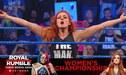 WWE SmackDown: Becky Lynch ganó y luchará contra Asuka en Royal Rumble 2019 [VIDEO]