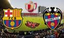 Barcelona vs. Levante VER EN VIVO vía DirecTV Sports y Sky: Horarios de la transmisión en directo, Streaming online, alineaciones y canales por Copa del Rey | GUÍA TV
