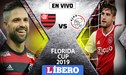 Flamengo vs Ajax EN VIVO: con Miguel Trauco en la banca de suplentes, el 'Mengao' vence 2-1 por la Florida Cup