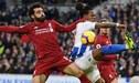 Liverpool derrotó 1-0 a Brighton & Hove Albion por la Premier League
