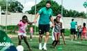 ¡Buena! Claudio Pizarro tuvo encuentro con niños desfavorecidos de Sudáfrica [FOTOS]