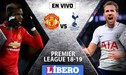 Manchester United vs Tottenham EN VIVO: Partidazo por la Premier League