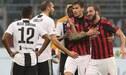Juventus se enfrenta a Milan en la final de la Supercopa italiana