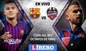 Barcelona vs Levante EN VIVO ONLINE por el pase a cuartos de la Copa del Rey | GUÍA TV