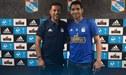 Sporting Cristal: Roberto Palacios le dio la bienvenida al 'Chorri' uruguayo en La Florida [FOTO]