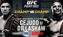 TJ Dillashaw vs Henry Cejudo EN VIVO ONLINE por FOX Sports: fecha, día, hora, canal y cartelera del UFC Fight Night 143