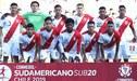 Perú vs Paraguay: fecha, horario y canales del próximo partido de la 'Bicolor' en Sudamericano Sub-20 2019