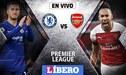Chelsea vs Arsenal EN VIVO por la jornada 23 de la Premier League