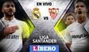 Real Madrid 0-0 Sevilla EN VIVO: con Vinícius Junior, la 'Casa Blanca' iguala por la Liga Santander