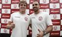 José Carvallo y Patrick Zubczuk trabajan duro para ganarse la puesto