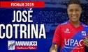 José Cotrina es nuevo jugador del Mannucci por todo el 2019