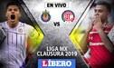 Chivas vs Toluca EN VIVO: partidazo por la tercera fecha del Clausura de la Liga MX