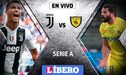 Juventus vs Chievo EN VIVO: Con 'CR7', la 'Vecchia Signora' reanuda su carrera en busca de un nuevo 'Scudetto'