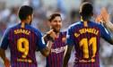 """Lionel Messi, Luis Suárez y Dembéle, la """"MSD"""" ya es una realidad en el Barcelona"""