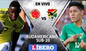 Colombia vs Bolivia EN VIVO partidazo por la tercera fecha del Sudamericano Sub-20