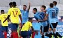 Uruguay venció 3-1 a Ecuador en partidazo por el Grupo B del Sudamericano Sub-20 [RESUMEN Y GOLES]