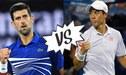 Novak Djokovic vs Kei Nishikori EN VIVO por cuartos de final del Abierto de Australia