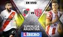 River Plate vs Unión de Santa Fe EN VIVO ONLINE: día, hora y canal por la fecha 12 de la Superliga Argentina