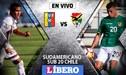 Venezuela vs Bolivia EN VIVO: La 'vinotinto' sale en busca de su pase al hexagonal del Sudamericano Sub 20
