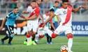 Juagdores de la Selección Peruana mayor alientan con hashtag a jugadores Sub 20 para el partido de hoy