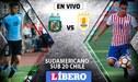 Uruguay vs Paraguay EN VIVO: por el último cupo del Grupo B al hexagonal final del Sudamericano Sub 20